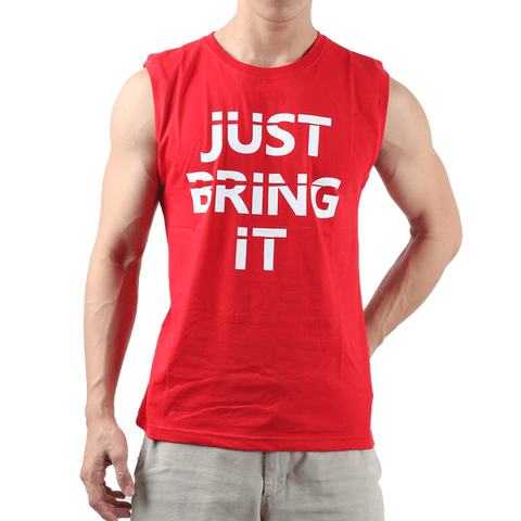Sleeveless Just Bring It – Red