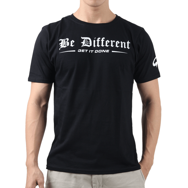 Tee Be Different – Black