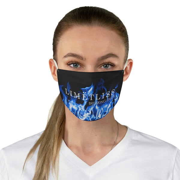 Fire Flame Fabric Face Mask