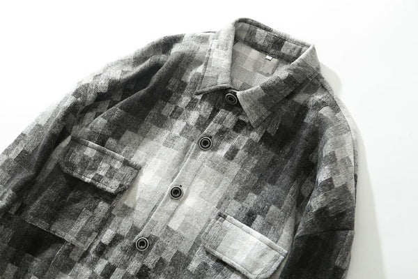 Charcoal Blend Button Up Flannel - limetliss