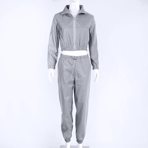 Hyper Reflective Ladies 2 Piece Set - limetliss