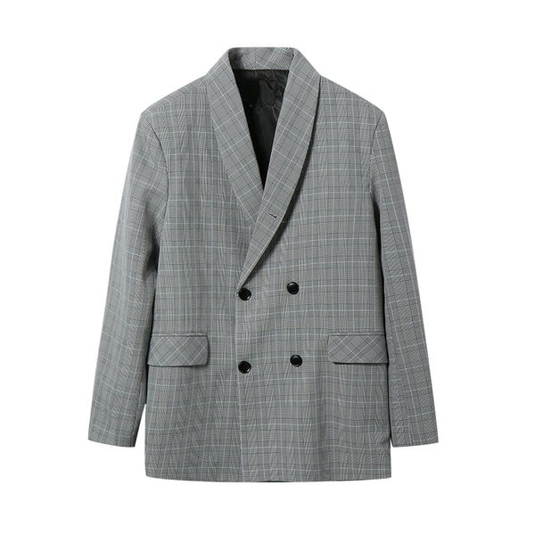 heritage double breasted blazer - limetliss