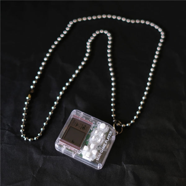 classic retro game console necklace - limetliss