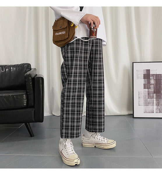 Montana Plaid LUX Military Trousers - limetliss