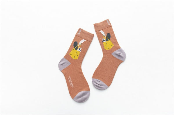 Hipster Painting Socks