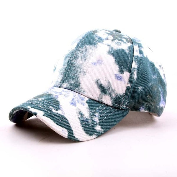 Tie Dye Faded Baseball Cap