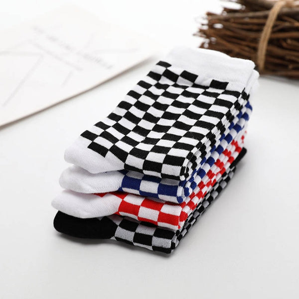 Checkerboard Socks