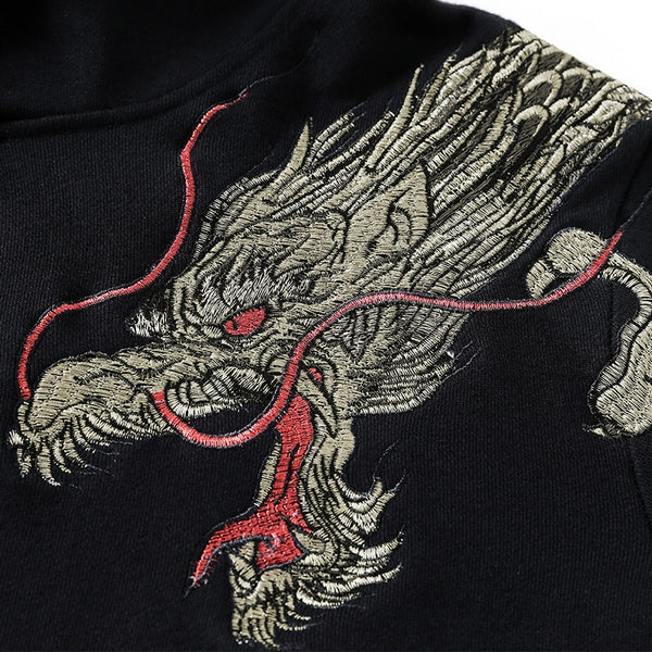 Dragon Embroidery Hoodie