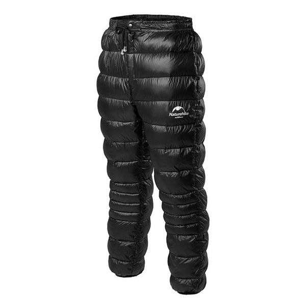 Black Padded Insulted Pants