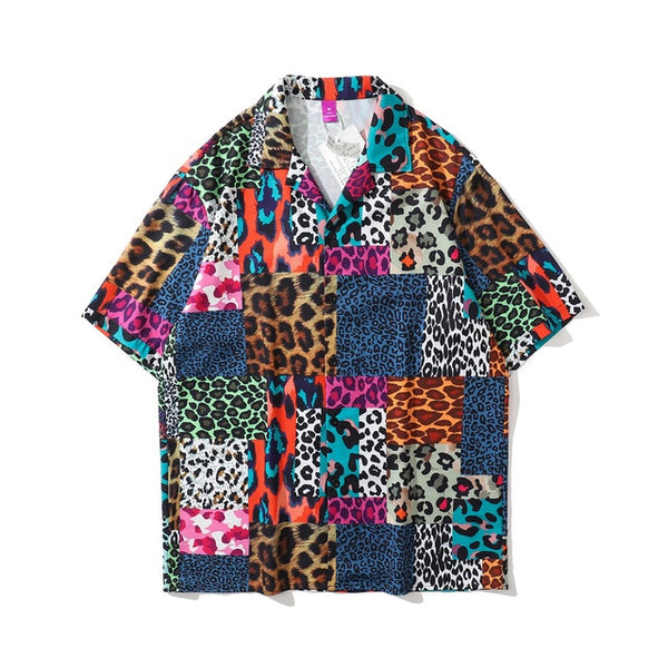 Leopard Multi Patched Tee