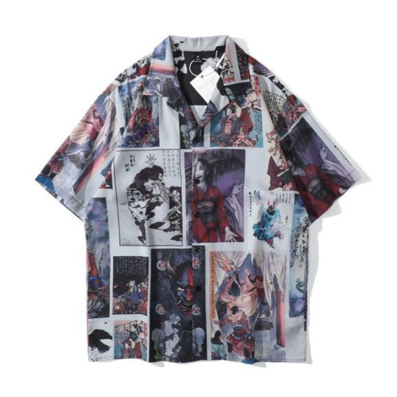 Portrait Anime Strip Tee