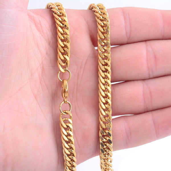 Cuban Link High Quality Gold Chain - limetliss