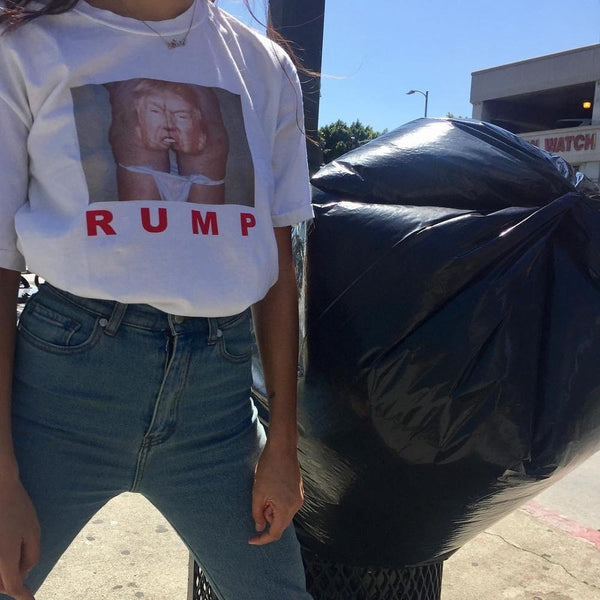 Ladies Japanese American Meme 'RUMP' Shirt - limetliss