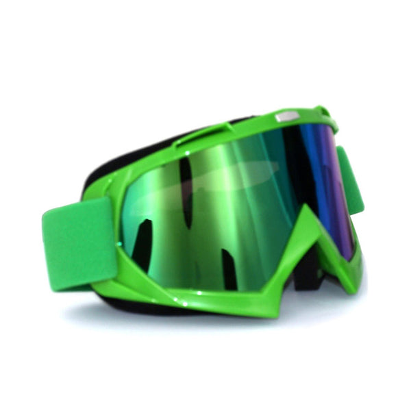 Money Green Motocross Goggles - limetliss