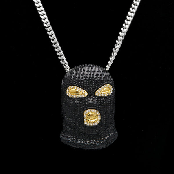 Mask Head Pendant Chain - limetliss