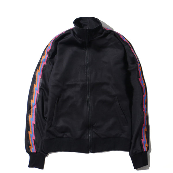 Flash Multi Lightning Bolt Track Jacket - limetliss