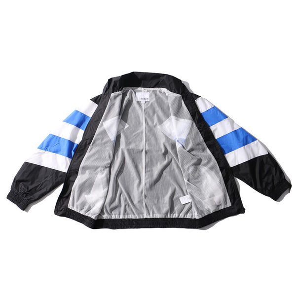 Estonia Flagged Windbreaker Jacket - limetliss