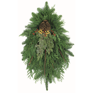 "Dogwood Delight Swag - 36"" in. length by Oregon Holiday Wreaths"