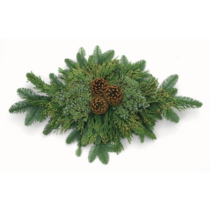 "Door Charm Swag or Centerpiece - 26"" in. by Oregon Holiday Wreaths"