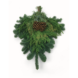 "Mixed Evergreen Swag - 22"" in. by Oregon Holiday Wreaths"