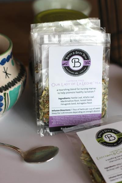 Birds and Bees Tea Sample