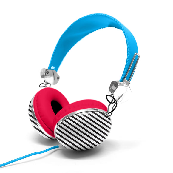 Headphone with Carry Case Blue