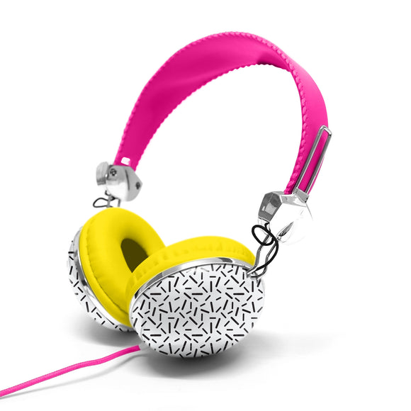 Headphone with Carry Case Pink