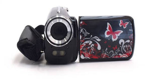 Kids Camo Digital Camcorder - Butterfly Design