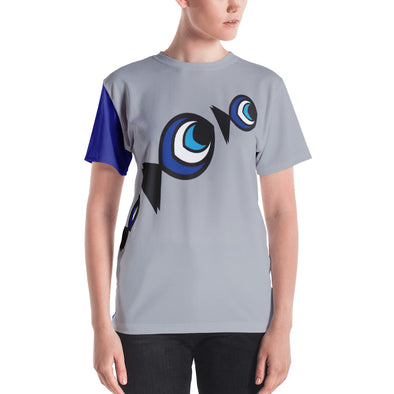Lucky Fish Shield Women's T-shirt