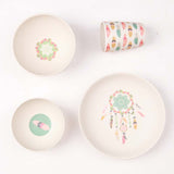 Love Mae Bamboo Dinnerset 4 Pieces Dreamy Supper
