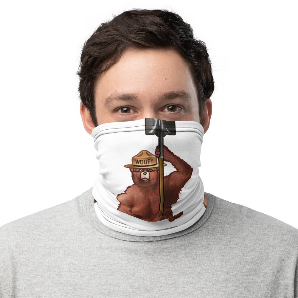 Woofy the Bear (Mask/Neck Gaiter)