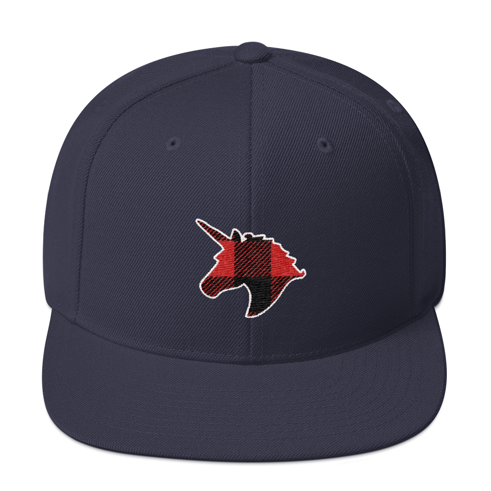 Plaid Unicorn (Baseball Cap)