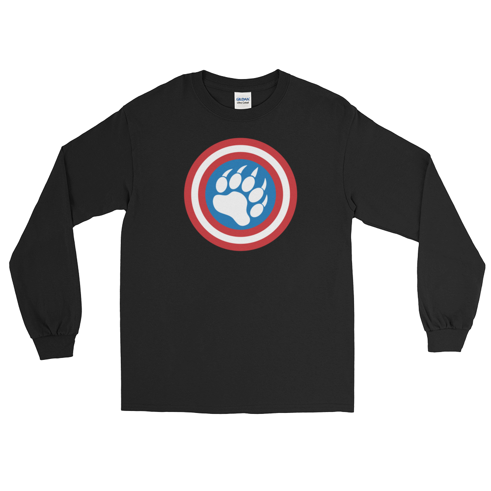 Cap'n Ameribear (Long Sleeve)
