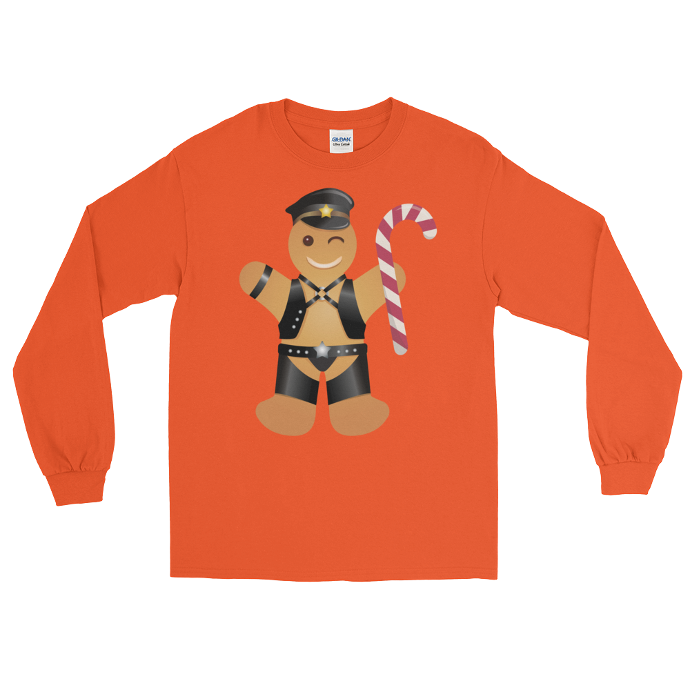 Gingerbread Leather Man (Long Sleeve)