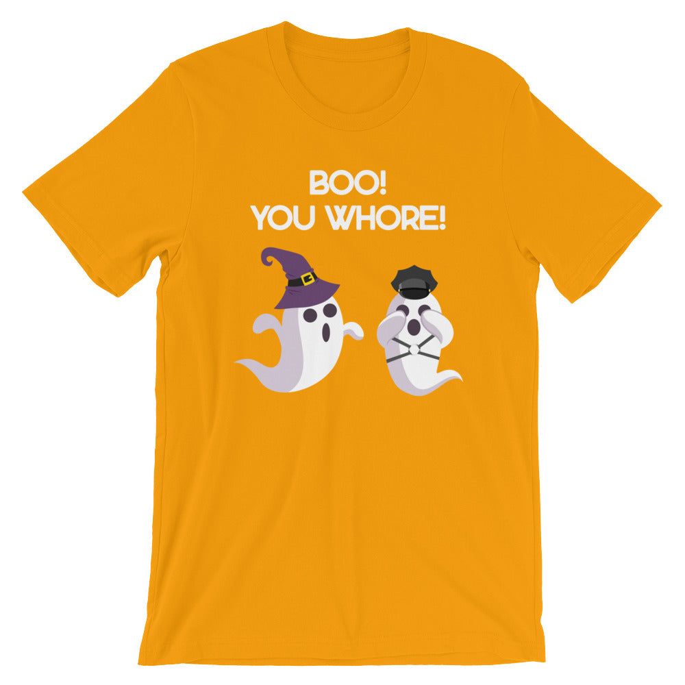 Boo! You Whore!