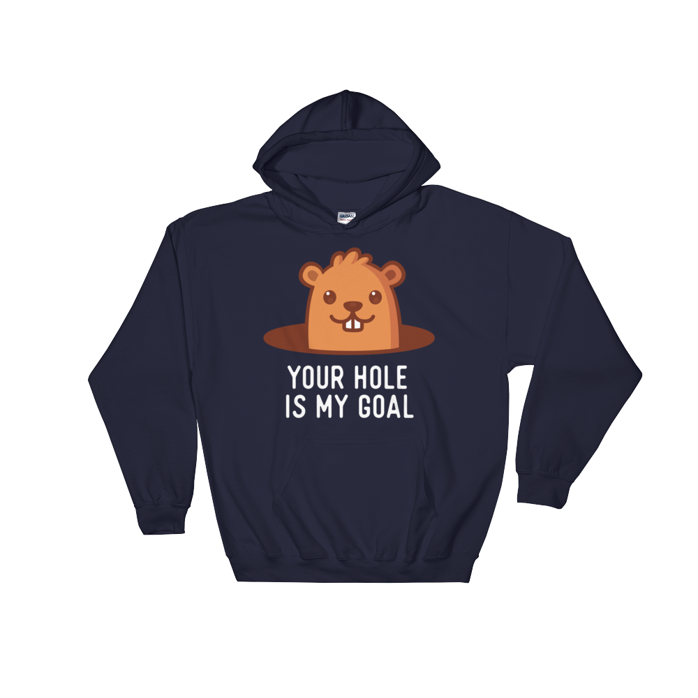 Your Hole is My Goal (Hoodie)