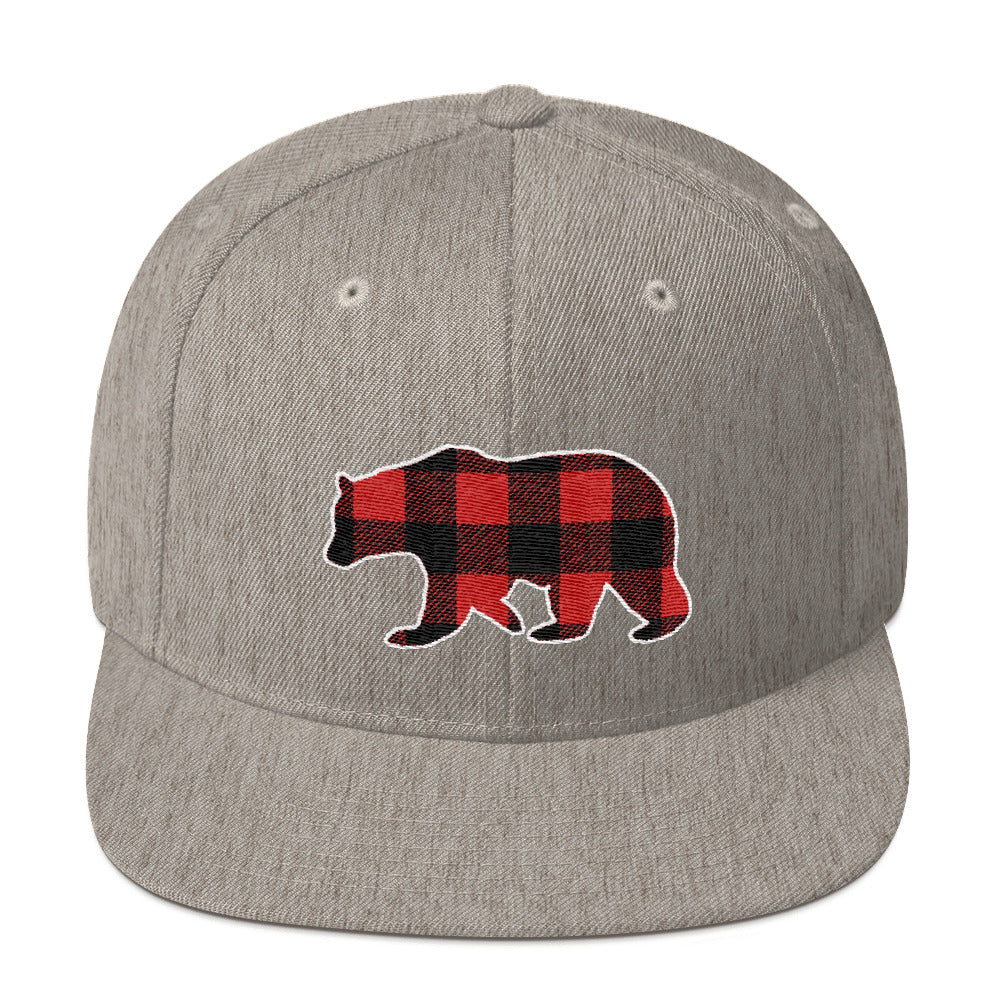 Plaid Bear (Baseball Cap)