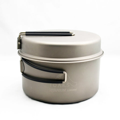 TOAKS Titanium 1350ml Pot with Pan
