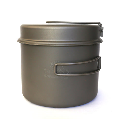TOAKS Titanium 1600ml Pot with Pan