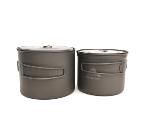 TOAKS Titanium 1300ml Pot / 900ml Pot Combo Set