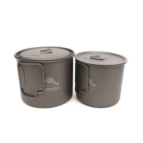 TOAKS Titanium 550ml Pot and 375ml Cup Combo Set