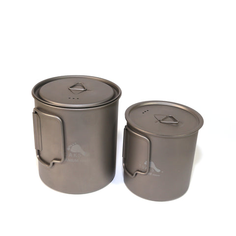 TOAKS Titanium 750ml Pot and 450ml Cup Combo Set