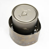 TOAKS Ultralight Titanium Solid Fuel Cook System