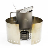 TOAKS Titanium Alcohol Stove Cook System with 650ml Pot