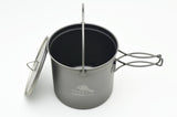 TOAKS Titanium 1100ml Pot with Bail Handle