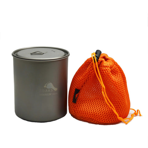 TOAKS Titanium 750ml Pot without Handle