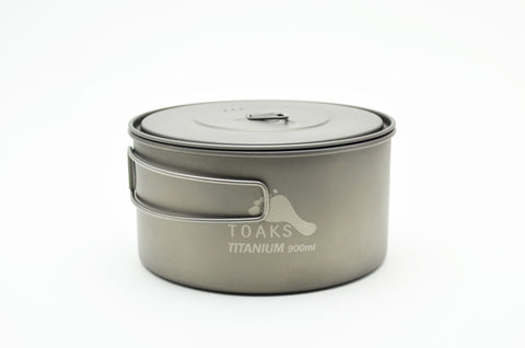 TOAKS Titanium 900ml D130mm Pot