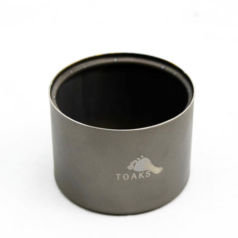 /Camping Survival in the Wild Travel TOAKS Titanium Alcohol Stove and Stand/