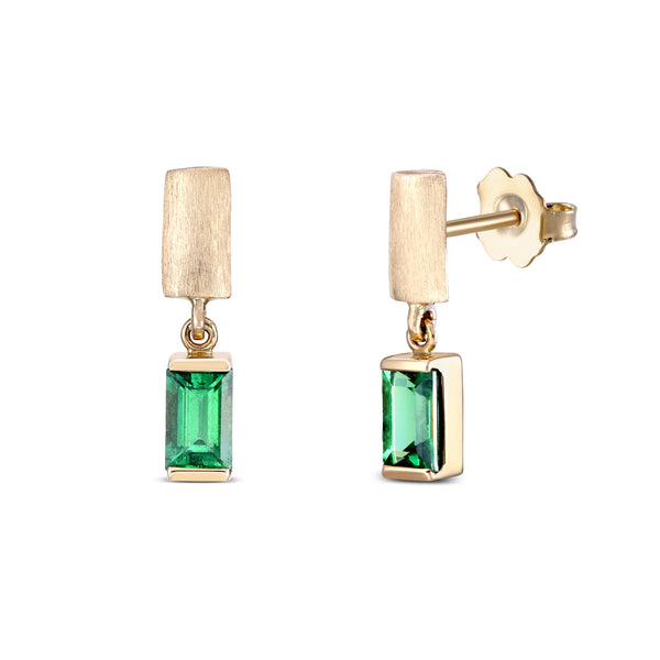 Tsavorite Earrings
