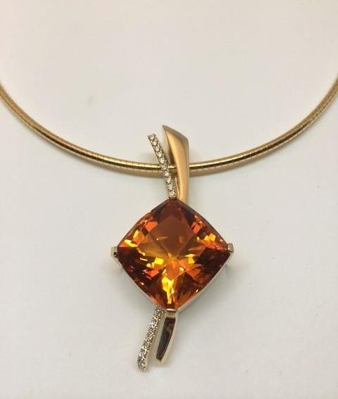 Brazilian Citrine Necklace